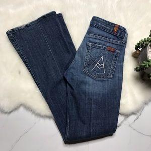7FAM A Pocket flare jeans A8